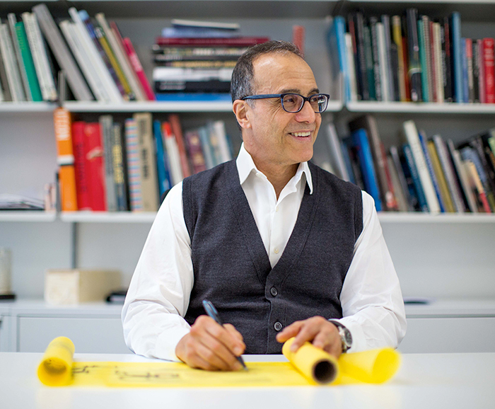 Lee Polisano, RIBA, FAIA President and founder of PLP Architecture